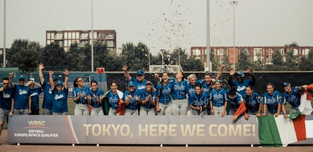 Italy qualifies for Tokyo 2020 Olympics as top softball team across Europe/Africa